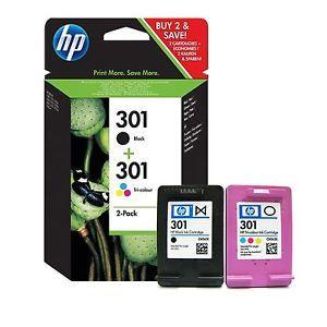 HP CR340EE dual pack (HP 301 fekete + színes)