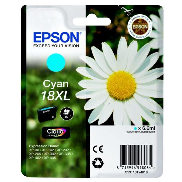 Epson T18124010 (18XL) Cyan tintapatron