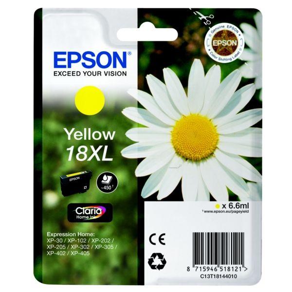 Epson T18144010 (18XL) Yellow tintapatron
