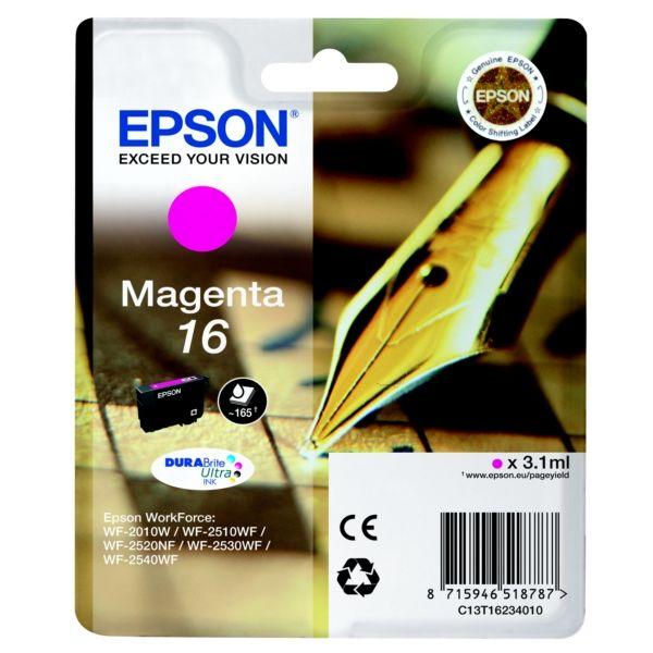 Epson T16234010 ( 16) Magenta tintapatron