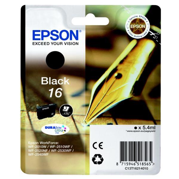Epson T16214010 (16) Bk tintapatron