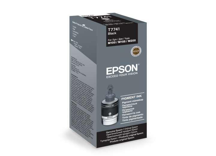 Epson T7741A eredeti fekete pigment tinta (C13T77414A)