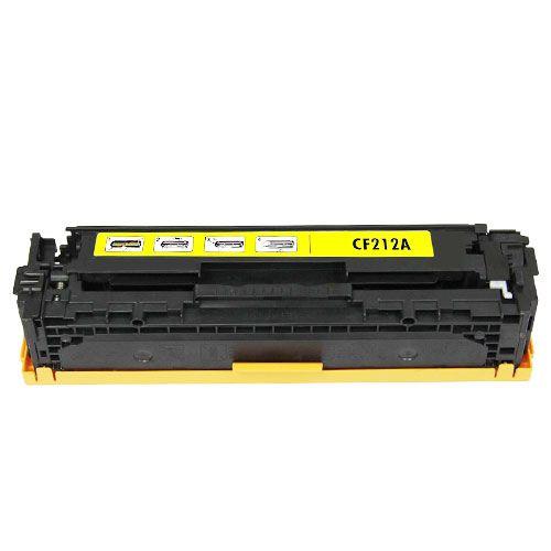 HP CF212A sárga utángyártott toner (No.131A)