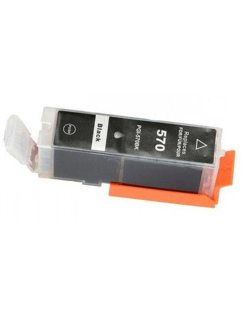 PGI-570XL utángyártott fekete