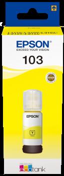 Epson T00S4 sárga tinta No. 103