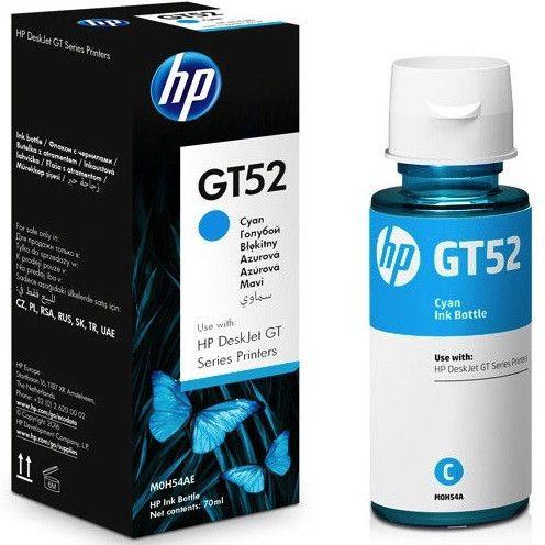 HP GT52 cián eredeti töltő tinta
