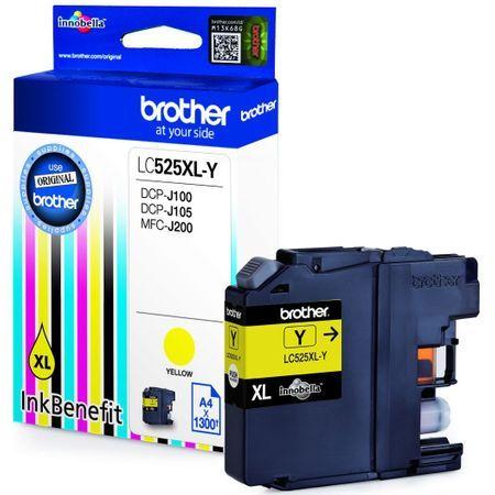 Brother LC-525XL Y sárga tintapatron